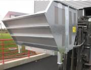 Benne filtrante - Séparation de matières solides de celles liquides