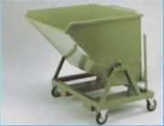 Benne métallique à copeaux - Capacités : de 8 à 40 m³