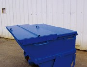Benne pour déchets industriels - Collecte et transporte : Métaux, Bois, Verre, Caoutchouc, etc