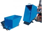 Benne pour déchets légers - Benne basse économique à déclenchement automatique