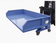 Benne pour déchets plats lourds - Capacité : 2500 à 3000 kg