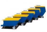 Benne renforcée - Capacité : de 500 à 1200 Litres