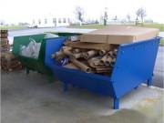 Benne renforcée pour déchets lourds - Capacité (L) : de 1350 à 4000