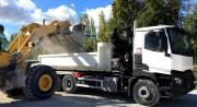 Benne universelle tous types de déchets de 8 à 30 m3 - Capacités: 8-10-12-15-20 et 30 m³