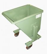 Bennes à déchets 100 à 350 litres - À vidage manuel à quai - Volume (L) : 100-150-200-250-350