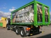 Bennes à déchets grand volume - Capacité : de 1350 à 4000 Litres