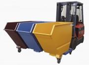 Bennes de tri des déchets - Par deux ou trois cuves de 530 L chacune sur un même châssis