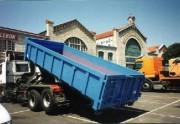Bennes relevables pour camion - Volume (m3) : de 5,2 à 19,9