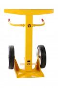Béquille de sécurité pour remorque - Capacité de charge : 40t. - Certifiée TÜV