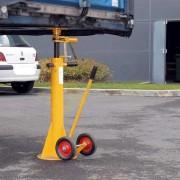 Béquille de sécurité réglable en hauteur - Charge admissible : 45 tonnes
