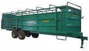 Bétaillère 2 essieux - Essieux freinés hydrauliquement