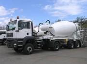 Bétonnière camion - Volume géométrique de la cuve (yd³) : 20,87
