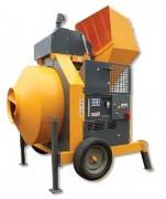 Bétonnière de chantier électrique - Capacité : 800 Litres
