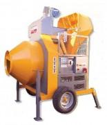 Bétonnière diesel à chargeur - Capacité : 400 Litres