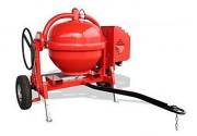 Bétonnière électrique tractable - Capacité : 350 Litres