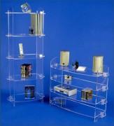 Bibliothèques en altuglas - Hauteur (cm) : 76 - 150