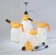 Bidon de sécurité pour huile - En polyéthylène - Récipients - Pompe - Couvercle