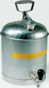 Bidon de sécurité robuste - Avec robinet en acier inox