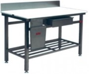 Billot inox - Table de travail en inox simple ou sur mesure