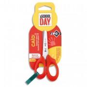 Blister ciseaux gaucher 13cm pour enfant lame inox, bouts arrondis et gachette anti-glisse - JPC