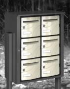 Bloc Boîtes aux lettres en Extérieur - Utilisation extérieure - norme NFD 27 404
