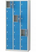 Bloc casier vestiaire - Blocs vestiaires à 7/14/21 ou 28 casiers