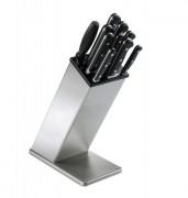 Bloc couteaux à poser en inox - Hauteur (cm) : 23 - 30