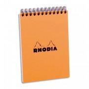 Bloc de direction A6 reliure intégrale 80 feuilles - Rhodia