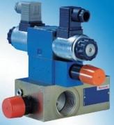 Bloc de sécurité de pompe piloté Type DBAW - Types DBA, DBAW et DBAE
