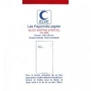 Bloc maitre d'hotel 50 feuillets 85x165 mm 50/2 autocopiant - Elve