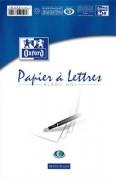 Bloc papier 50 feuilles 80 grammes format 148x210 mm uni PAP - oxford