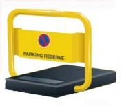 Bloc parking solaire place handicapé - Dimensions (mm) : 700 x 520 x 700