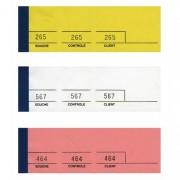 Bloc passe-partout 100 feuillets jaune 5 x 15 cm - Elve