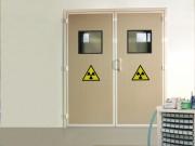 Bloc porte anti rayons X - Porte de bloc opératoire