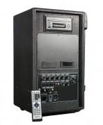 Bloc sono pour salle des fêtes 250 Volts - Lecteur CD+DVD-80 watts