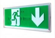 Bloc sortie de secours - Autonomie de la batterie : 1h  -   Eclairage LED : 0,85 W