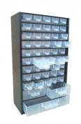 Bloc tiroir atelier fixe - Dimensions (L x l x h) mm : 550 x 715 x 370