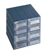 Bloc tiroir modulable pour atelier - Dimensions extérieures : 208x222x208 mm