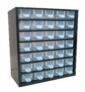Bloc tiroirs d'atelier fixe - Dimensions extérieures : 310x150x330 mm