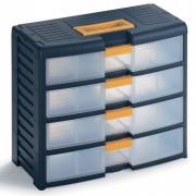Bloc tiroirs en plastique - Dimension extérieur L x P x H (mm) : de 391 x 197 x 334 à 391 x 390 x 629