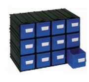 Blocs à 12 tiroirs - Système modulable