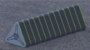 Blocs de protection gonflables anti véhicule bélier - Système modulaire de blocs gonflés et remplis d'eau