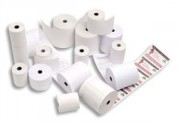 Bobine caisse standard 44 x 70 x 12 mm papier offset blanc 60g - Rolfax