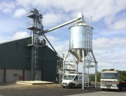 Boisseau de chargement céréales, grains et produits vrac - Manutention agricole pour installation de boisseaux