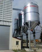Boisseau de manutention agricole - Chargement et stockage de produits en vrac, grains