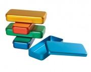Boîte à instruments médicaux - Dimensions : 170 x 70 x 30 mm