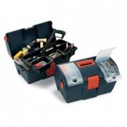 Boite à outils en polypropylène - Dimensions (L x H x P) mm : 260 x 491 x H277