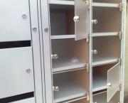 Boite aux lettres collective métallique - Portes boites postales métalliques ou plexiglass