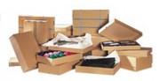 Boîte cloche carton - Dimension (Lxlxh) cm : de 30,5 x 21,5 x 5,2 à 50 x 33 x 9,5