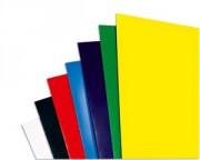 Boîte de 100 Couvertures brillantes 250g/m bleu CE020020 - Gbc